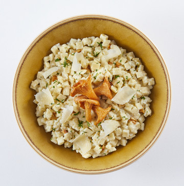 risotto version girolles